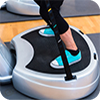 image of person on a power plate.