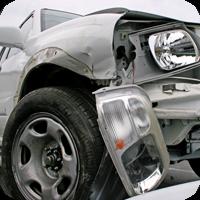 close up image of an automobile crash