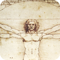 image of a man with stretched out arms
