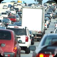 image of heavy traffic