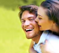 image of happy couple.