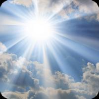 image of sun in sky.